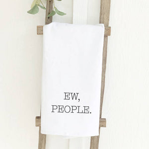Load image into Gallery viewer, Ew People Cotton Tea Towel
