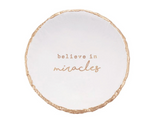 Believe in Miracles Trinket Dish