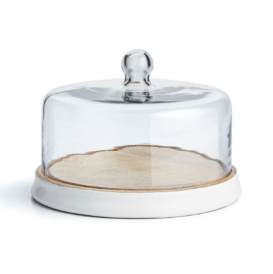 Isle of Palms Tray with Cloche