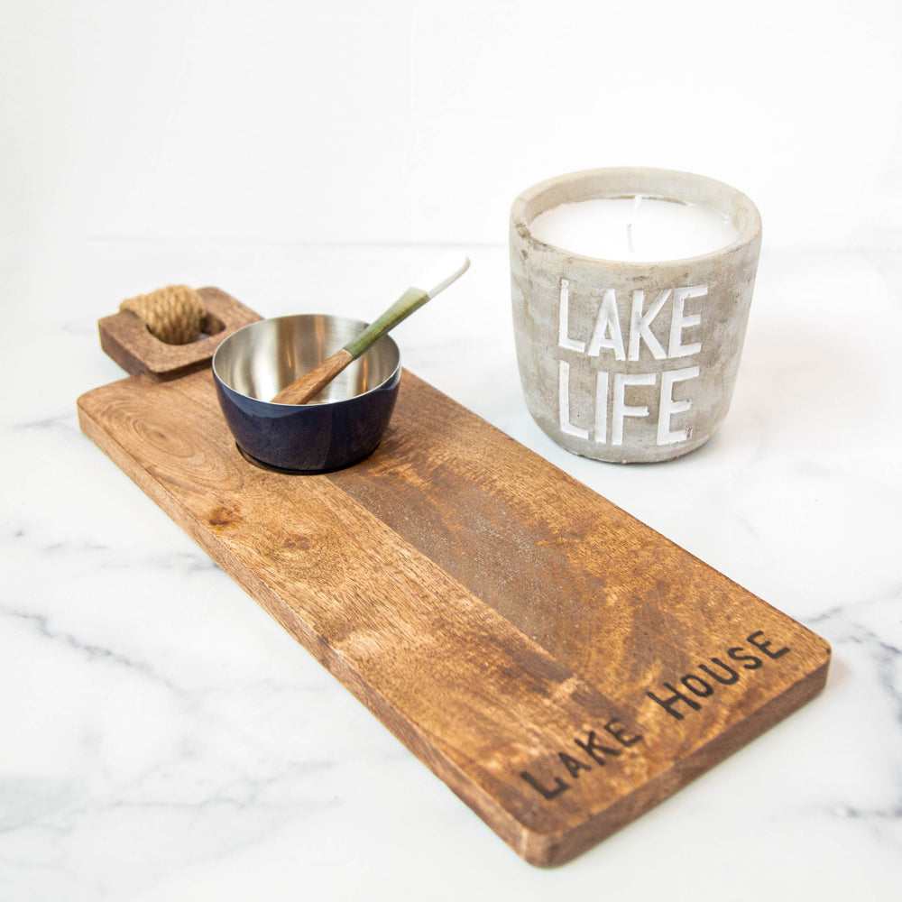 Lake Life Citronella Candle