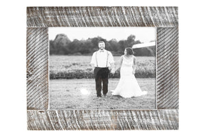Load image into Gallery viewer, Barn Wood Frame in White | 20x24