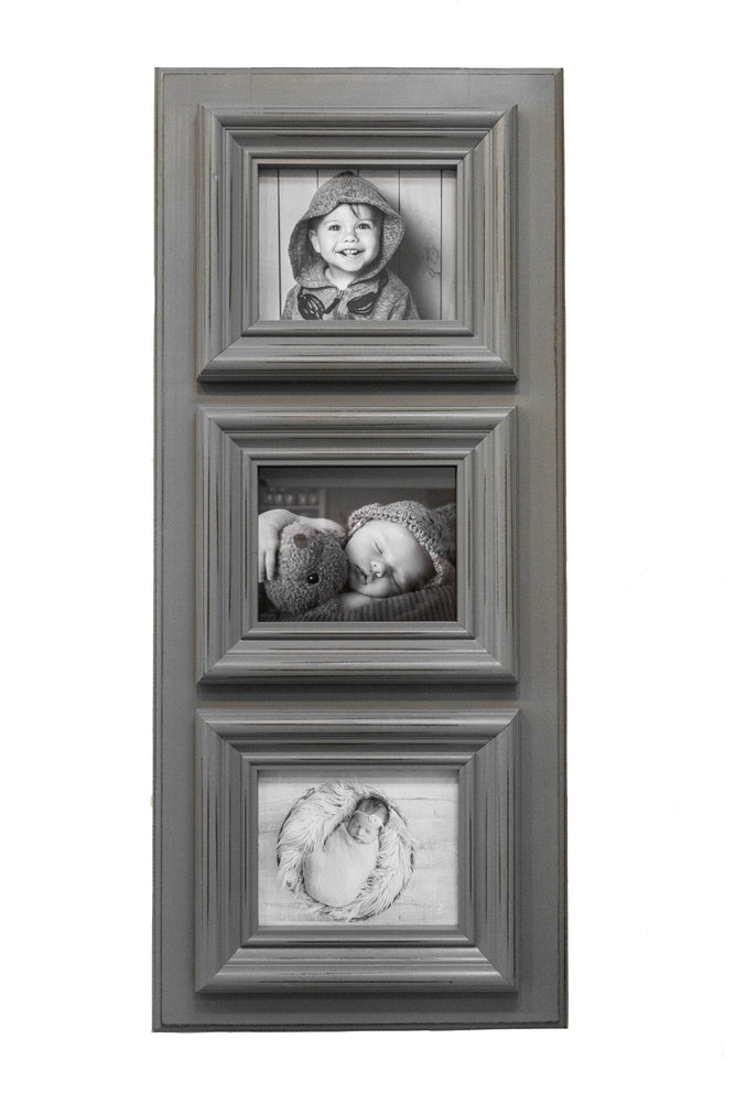 Load image into Gallery viewer, Chunky Frame in Dark Grey | Three 8x10s