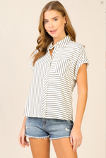 Madrid Striped Top