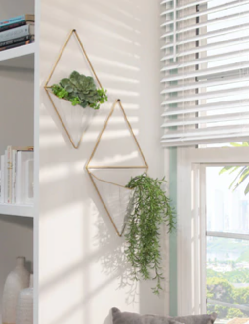 Load image into Gallery viewer, White Metal Hanging Planter