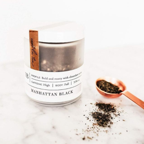 Manhattan Black | Tea Jar