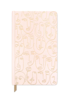 Blush Faces Notebook