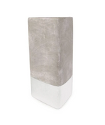 Concrete Triangle Candle | Tobacco Patchouli