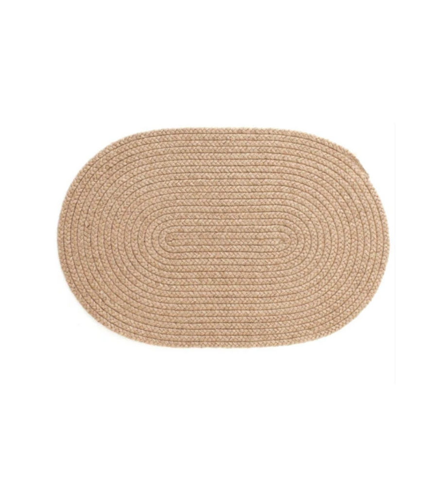 Esther Jute Oval Rug