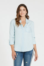 Sophia Button Down Top