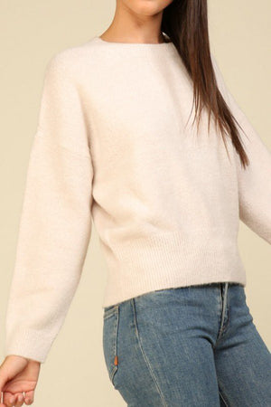 Long Sleeve Knit Sweater