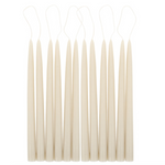 Parchment Taper Candle Pair
