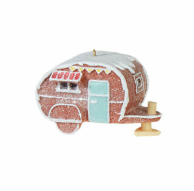 Gingerbread Camper Ornament
