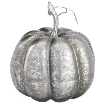 Load image into Gallery viewer, Silver Pumpkin