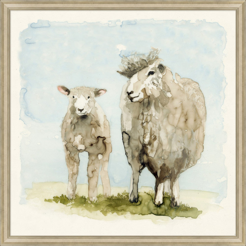 Load image into Gallery viewer, Duo of Lambs Wall Art