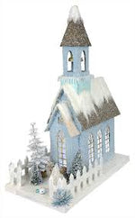 Ice Blue Church