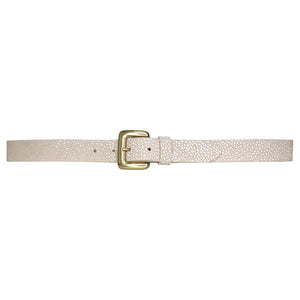 Cynthia Stingray Belt in Cream