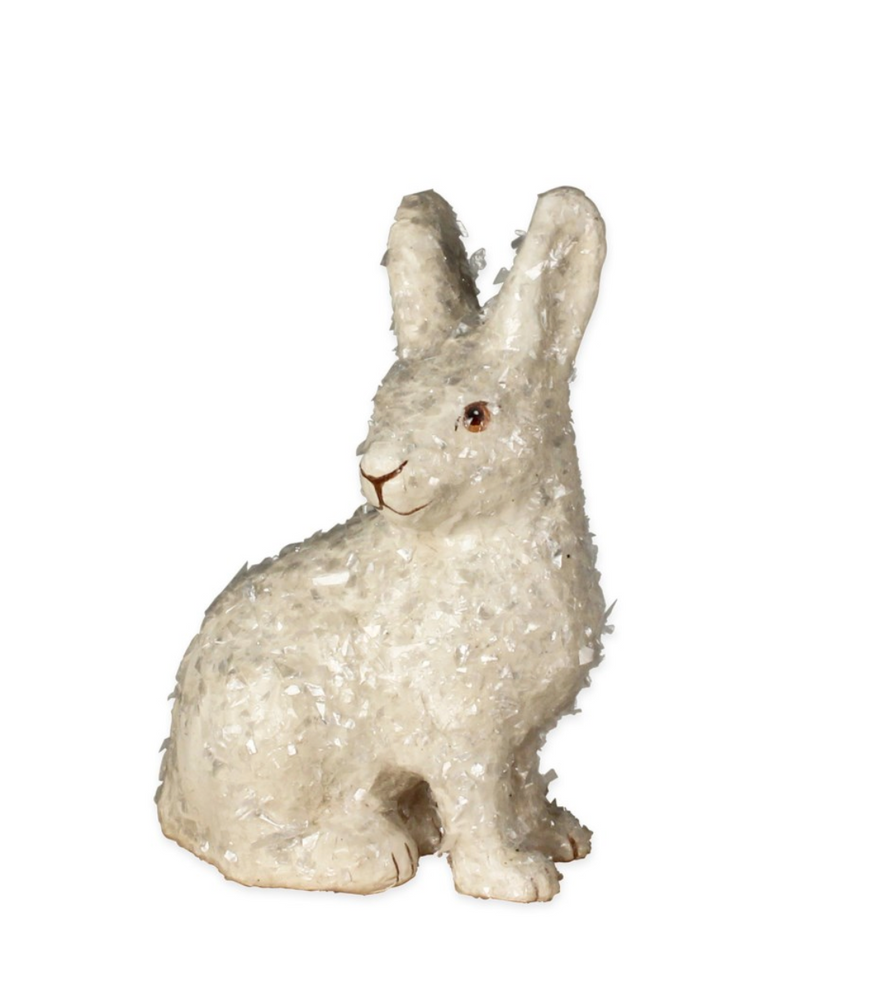 Paper Mache Rabbit Ornament