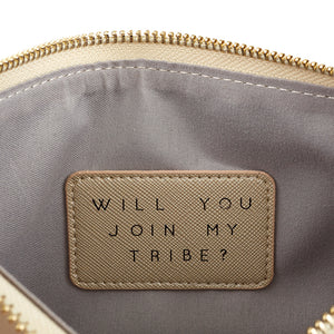 Bride Tribe Pouch in Petal Pink
