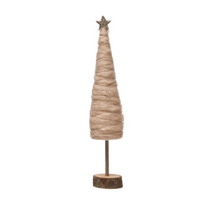Load image into Gallery viewer, Blush Wool Tree - 18.5""