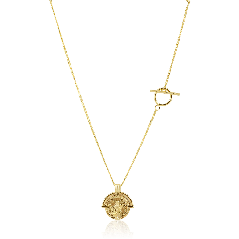 Cori Coin Necklace