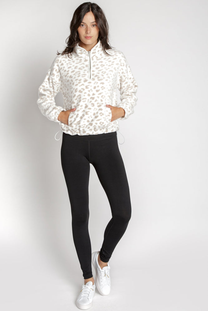 Reed Animal Print Pullover