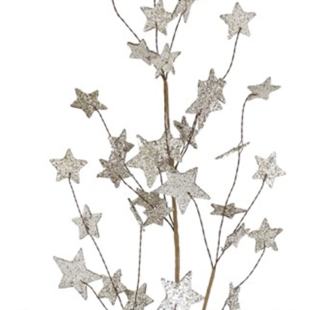 Glitter Star Spray - 32""