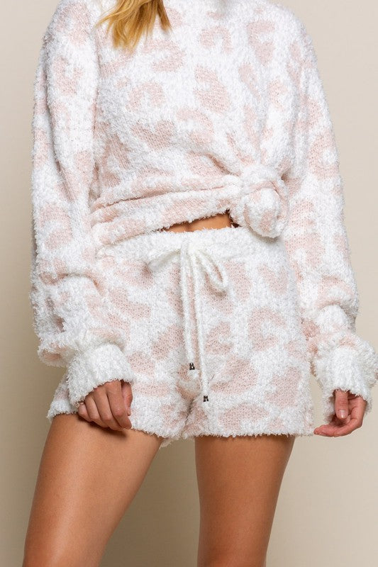 Cozy It Up With Leopards Shorts