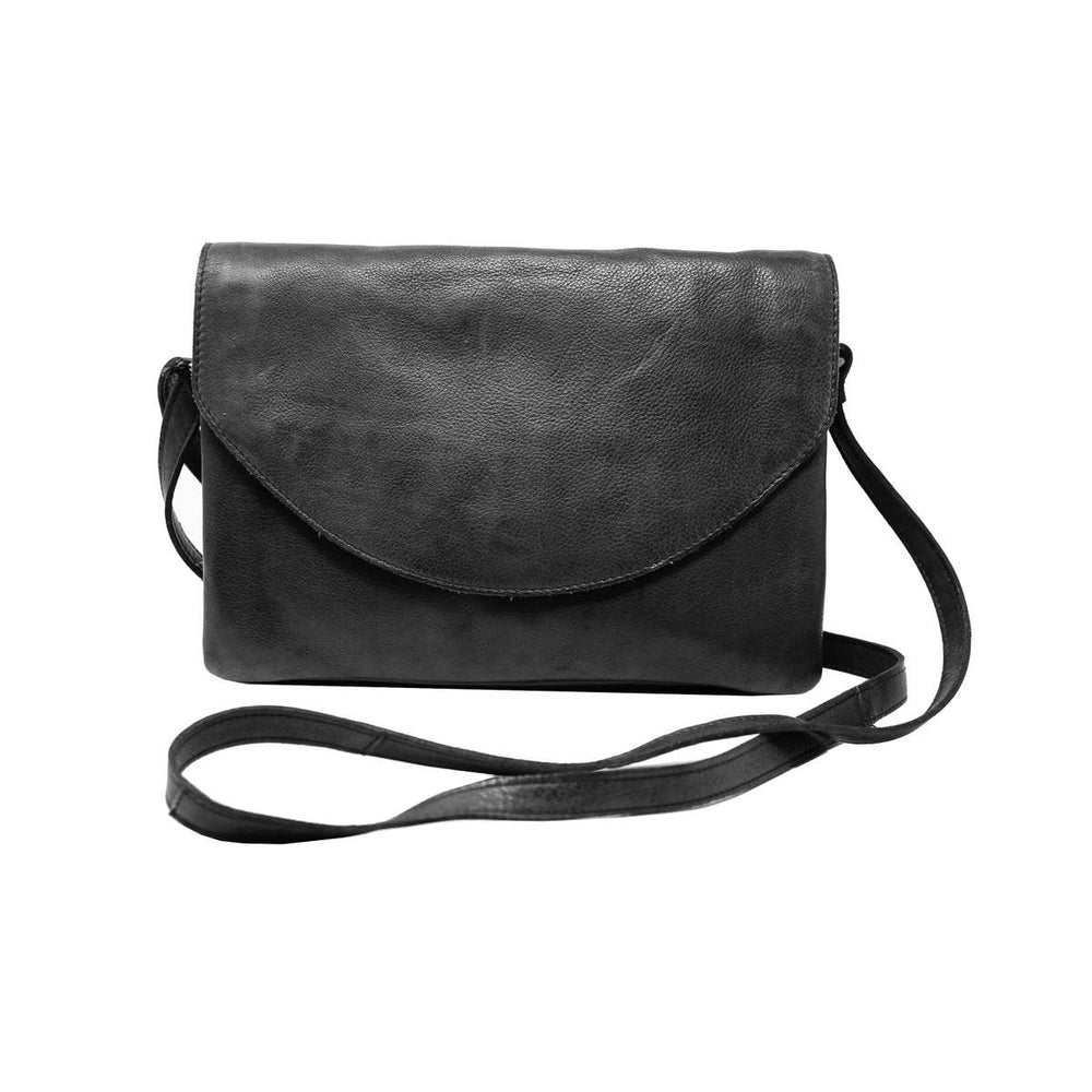 Markus Leather Bag | Black