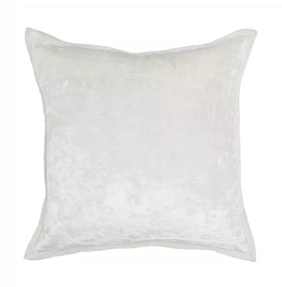 Load image into Gallery viewer, Ivory Velvet Pillow