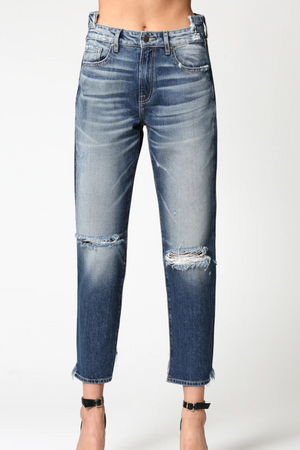 Load image into Gallery viewer, Della High Rise Jeans