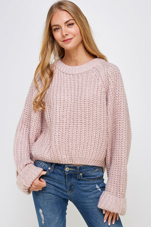 Load image into Gallery viewer, Peony Tulip Back Sweater