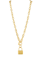 Stacy Toggle Lock Necklace