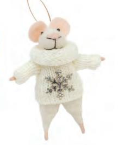 Piper Mouse Ornament