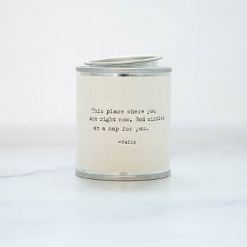 This Place Where You Are Soy Wax Candle