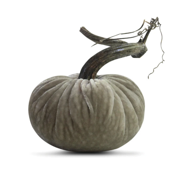 Putty Velvet Plush Pumpkin