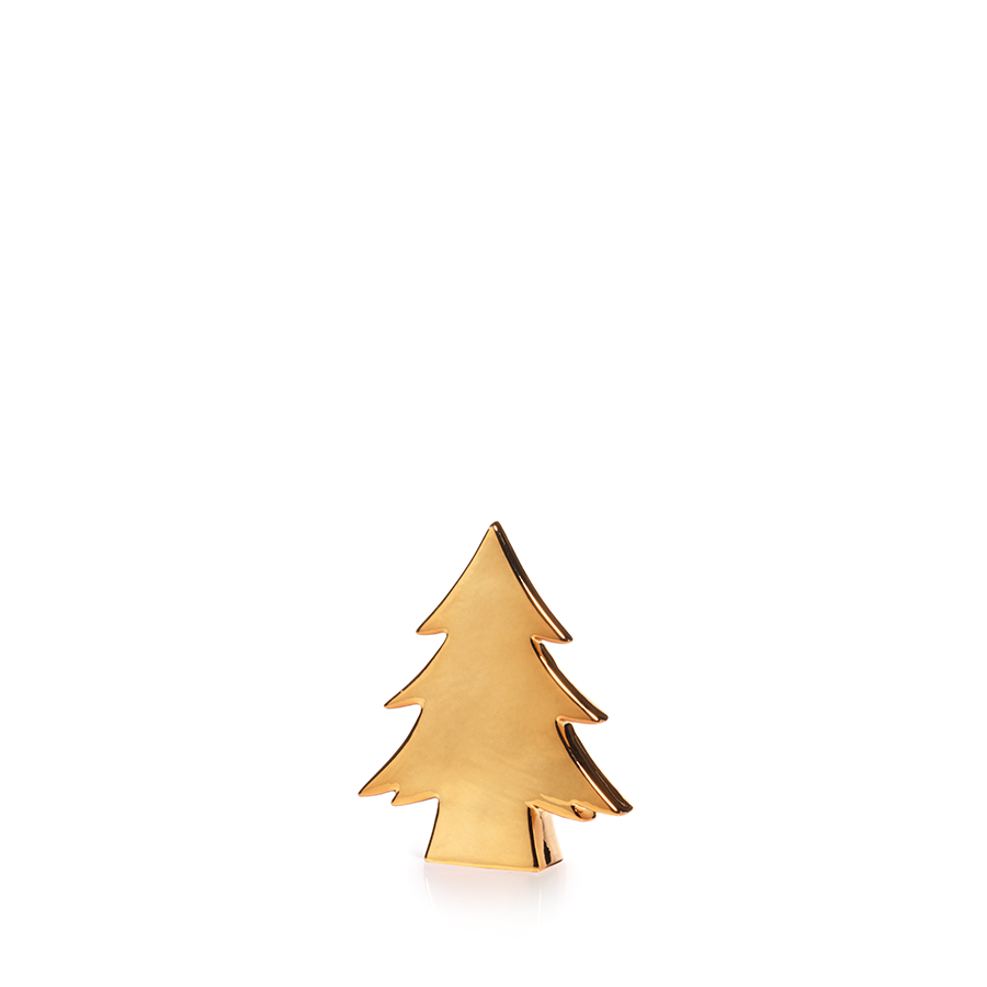Gold Ceramic Tree - 6.25""