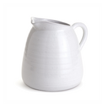 Farmhouse White Pitcher