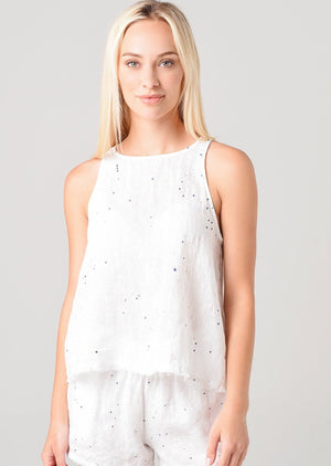 Load image into Gallery viewer, Splattered Swing Tank by Bella Dahl
