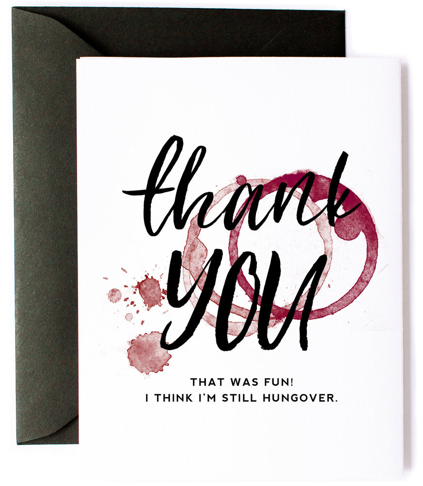 Still Hungover Greeting Card