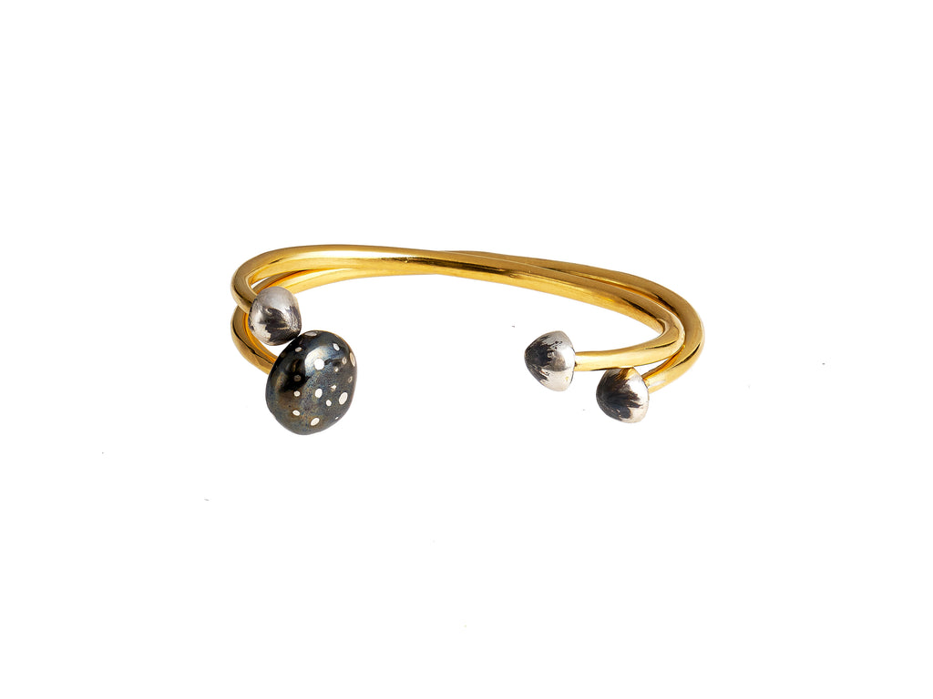 Magic Mushroom Bangle Set