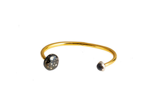 Large Single Magic Mushroom Bangle