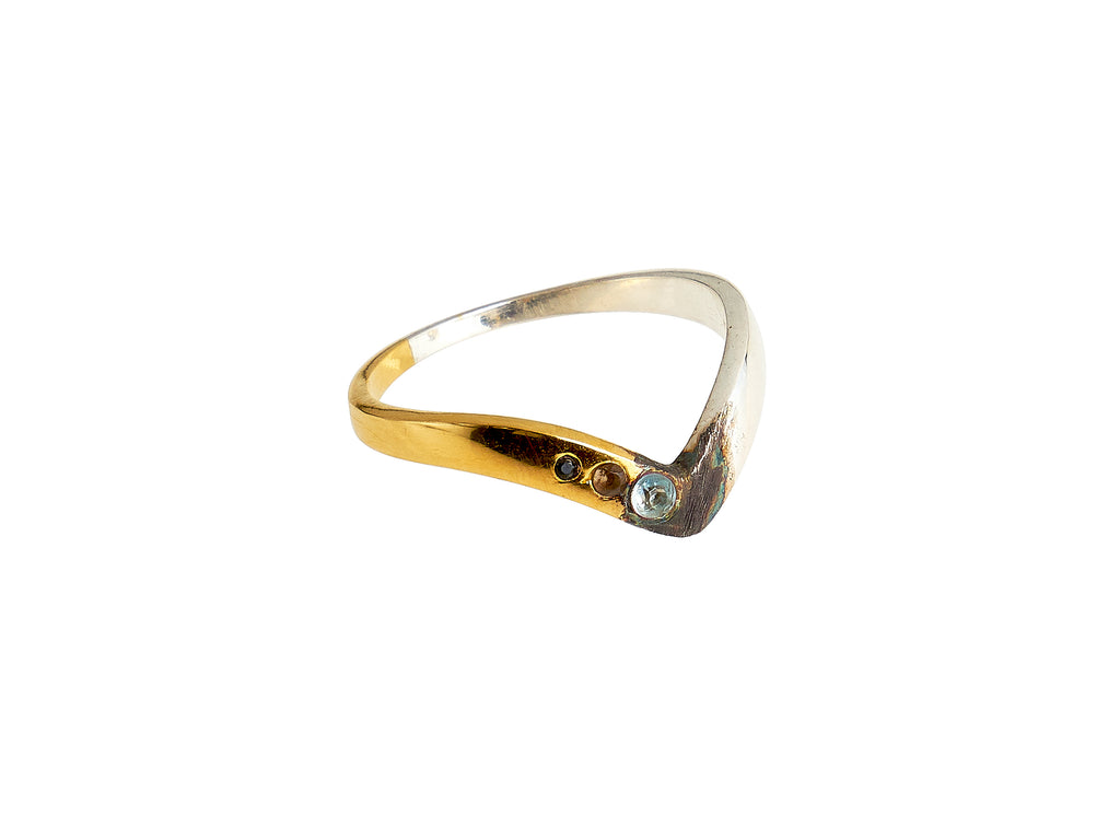 Withers spectrum ring blue