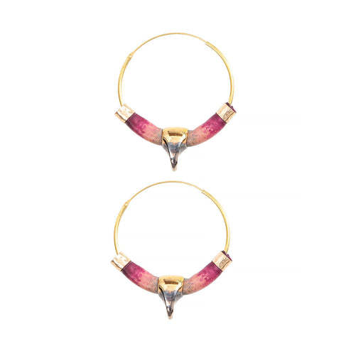 Lobster claw luxury hoops