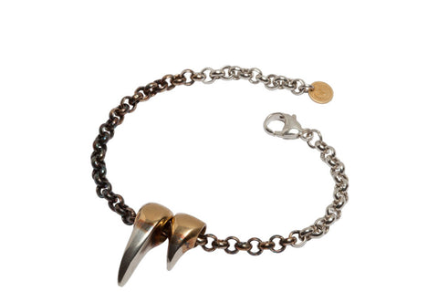 Double Sabre Tooth Bracelet