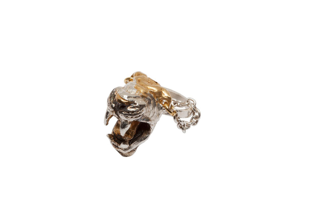 Sabre Tooth Guardian ring