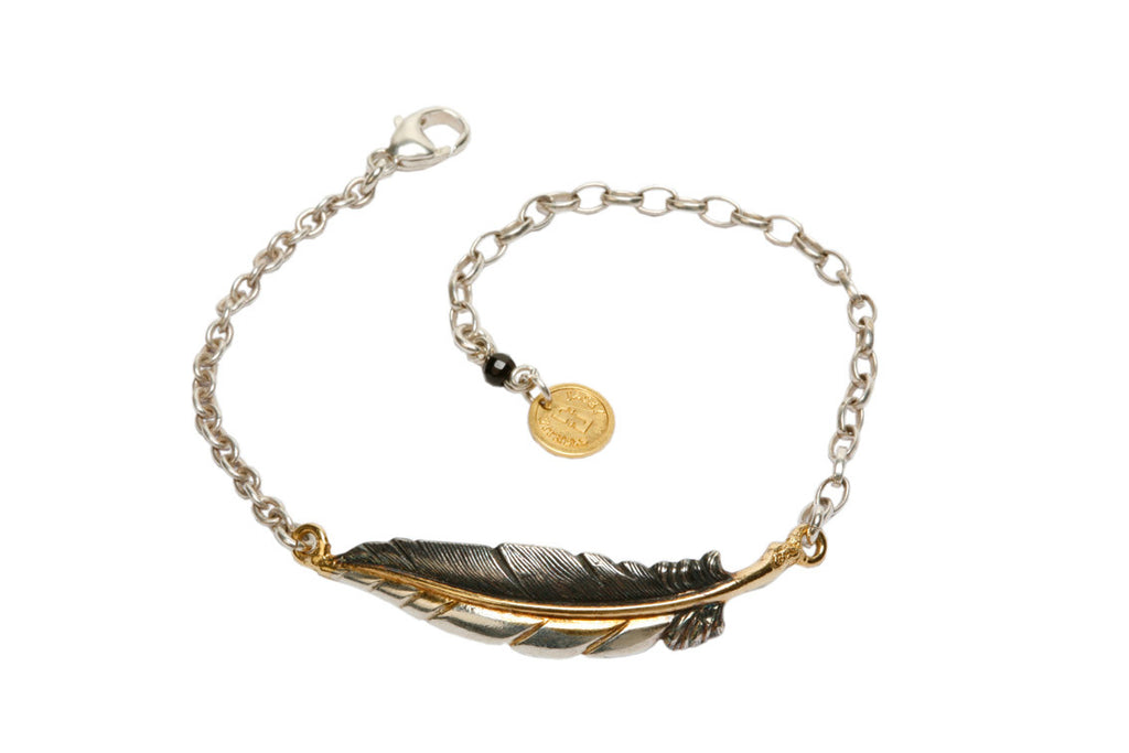 Slim Feather Bracelet