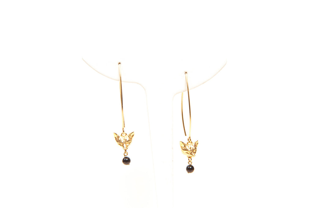 Fox Drop Earrings