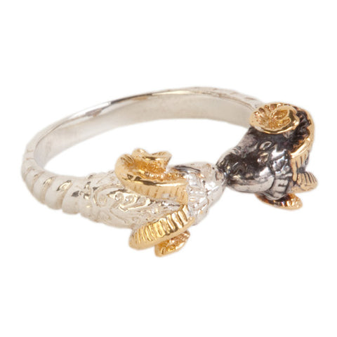 Kissing Ram Ring