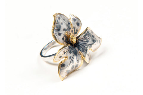 Tiger Orchid Ring