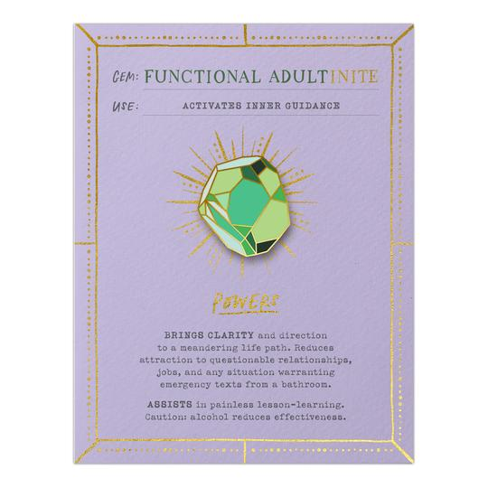 Functional Adultinite  Fantasy Stone & Card
